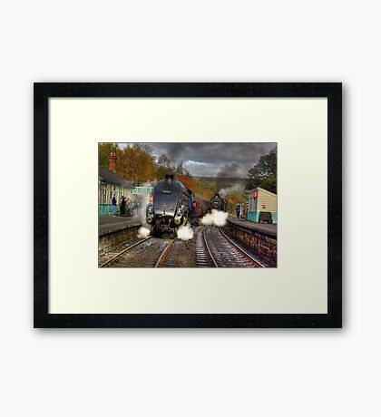 Grosmont - Revisited Framed Print