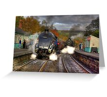 Grosmont - Revisited Greeting Card