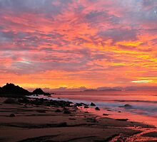 Lamberts Beach Sunrise by Margaret Hamwood