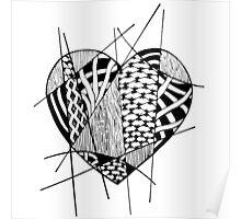 Cross Heart  Poster