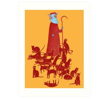 Herding Cats Art Print