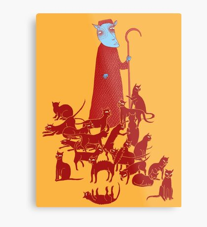 Herding Cats Metal Print
