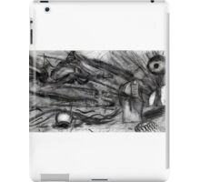 Flying Hand Creatures Fighting Giant Eye In The Sky iPad Case/Skin