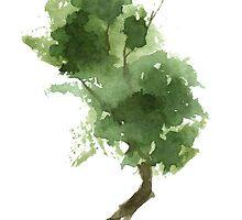 Little Zen Tree 187 by Sean Seal