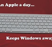 An Apple a day... keeps Windows away by Ian McKenzie