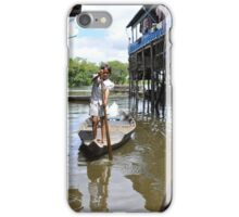 Floating villages of Tonle Sap iPhone Case/Skin