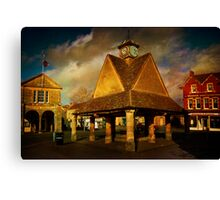 Witney Buttercross Canvas Print
