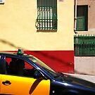 Barcelona - Taxi by Jean-Luc Rollier