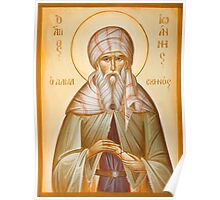St John of Damascus Poster