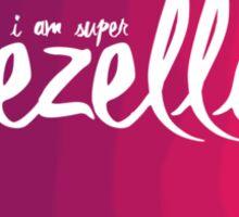 I am super gezellig Design, Dutch word. Sticker