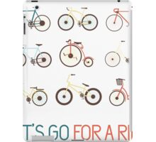 Let's go for a ride iPad Case/Skin