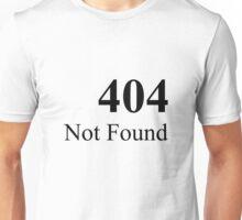 404 default Unisex T-Shirt