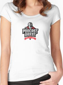 The Podcast Digest Store Women's Fitted Scoop T-Shirt