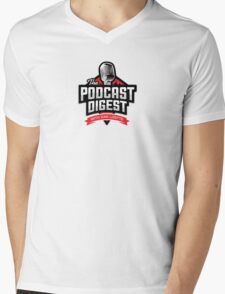 The Podcast Digest Store Mens V-Neck T-Shirt