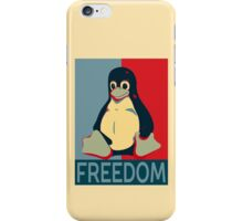Tux Freedom for Linux Users iPhone Case/Skin