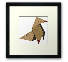 HEAVY RAIN: ORIGAMI BIRD Framed Print