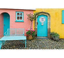 The colours of Portmeirion Photographic Print