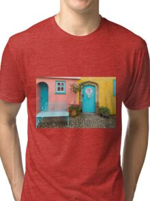 The colours of Portmeirion Tri-blend T-Shirt
