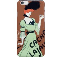 Leonetto Cappiello Affiche Cachou Lajaunie Cappiello iPhone Case/Skin