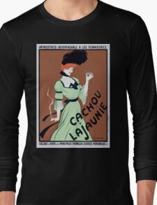Leonetto Cappiello Affiche Cachou Lajaunie Cappiello Long Sleeve T-Shirt