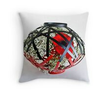 Ikebana-228 Throw Pillow