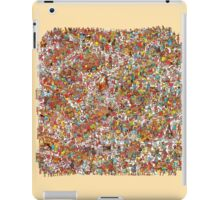 Where is wally in this product? iPad Case/Skin