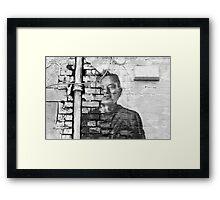 Barney Framed Print