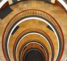 Vintage Staircase by Digital Editor .