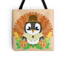 Thanksgiveguin Tote Bag