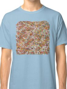 Where is wally in this product? Classic T-Shirt