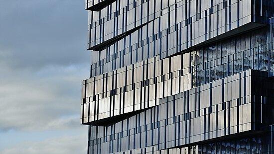City Shapes III by Georgie Hart