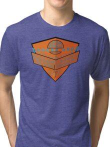 usa california cars tshirt by rogers bros Tri-blend T-Shirt