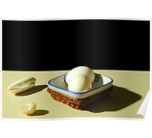 Eggs and shells Poster