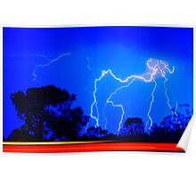 Electric Blue #5 - NSW Poster