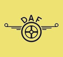 DAF - Classic Car Logos One Piece - Short Sleeve