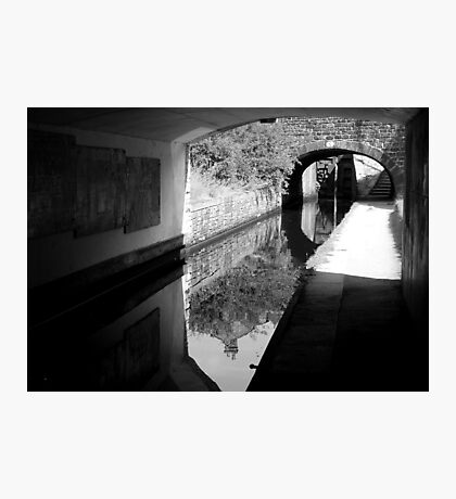 Double Tunnel Photographic Print