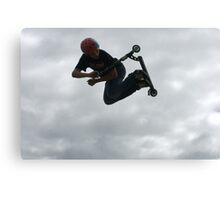 Sky Scooter Canvas Print