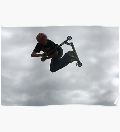 Sky Scooter Poster