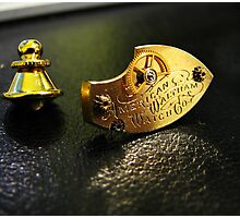 Waltham Cravat Pin- Steampunk, Victorian Photographic Print