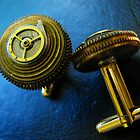 Working Clockwork Cufflinks- Steampunk, Victorian by Kristi B