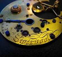 Liverpool Love Pendant- Steampunk, Victorian by Kristi B