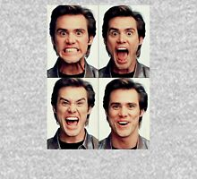 Jim Carrey faces in color Unisex T-Shirt