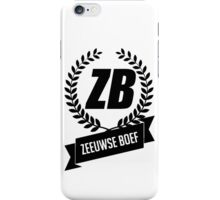 Zeeuwse Boef iPhone Case/Skin