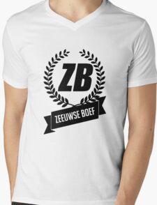 Zeeuwse Boef Mens V-Neck T-Shirt