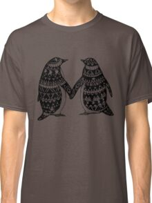 Penguin Couple Classic T-Shirt