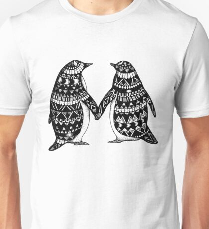 Penguin Couple Unisex T-Shirt