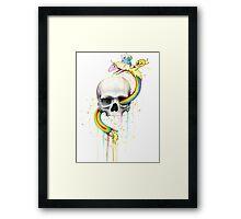 Deathventure Time! Framed Print