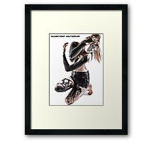 Accelerated Decrepitude Framed Print