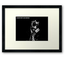 Accelerated Decrepitude Framed Print