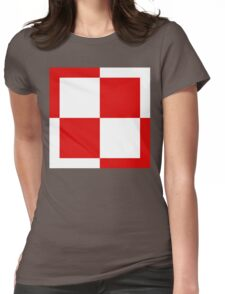 Polish Air Force Insignia  Womens Fitted T-Shirt